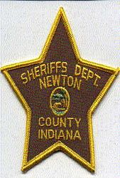 Sheriff: IN, Newton Co. Sheriffs Dept. Patch