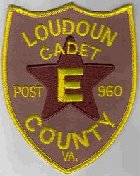 Sheriff: VA, Loudoun Co. Cadet Post 960 Patch