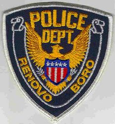 Renovo Boro Police Patch (PA)