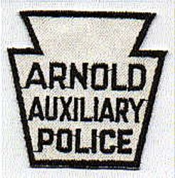 Arnold Aux. Police Patch (PA)