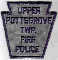 Upper Pottsgrove Twp. Fire Police Patch (PA)