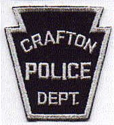 Crafton Police Patch (PA)
