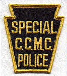 C.C.M.C. Special Police Patch (PA)