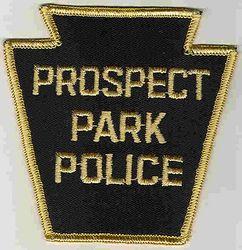 Prospect Park Police Patch (keystone) (PA)