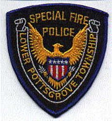 Lower Pottsgrove Twp. Special Fire Police Patch (PA)