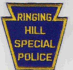 Ringing Hill Special Police Patch (PA)