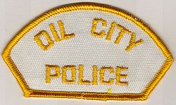 Oil City Police Patch (shoulder tab) (PA)