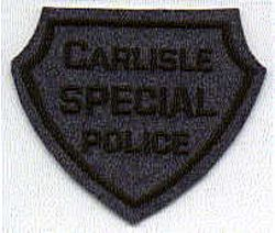 Carlisle Special Police Patch (felt) (PA)