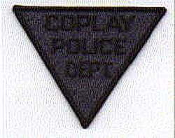 Coplay SWAT Police Patch (dark blue, small triangle) (PA)