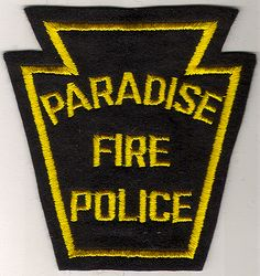 Paradise Fire Police Patch (PA)