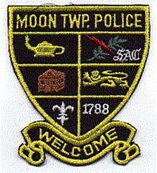 Moon Twp. Police Patch (shield shape) (PA)