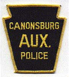 Canonsburg Aux. Police Patch (PA)