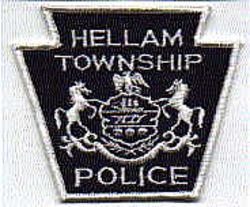 Hellam Twp. Police Patch (PA)