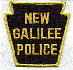 New Galilee Police Patch (PA)