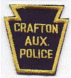 Crafton Aux. Police Patch (PA)