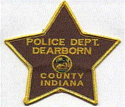 Dearborn Co. Police Patch (IN)