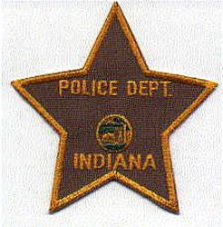 Indiana Police Patch (IN)