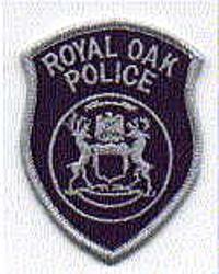 Royal Oak Police Patch (cap badge) (MI)