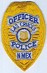 Las Cruces Police Officer Patch (badge patch) (NM)
