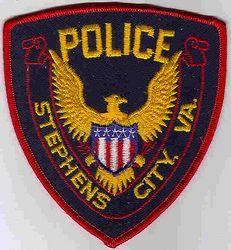 Stephens City Police Patch (red edge) (VA)