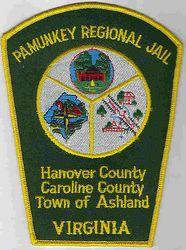 Pamunkey Regional Jail Patch (VA)