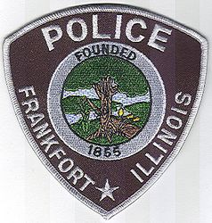 Frankfort Police Patch (IL)