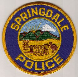 Springdale Police Patch (OH)