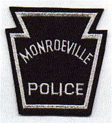 Monroeville Police Patch (felt) (PA)