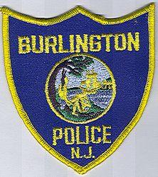 Burlington Police Patch (NJ)