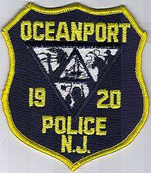 Oceanport Police Patch (NJ)