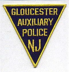 Gloucester Aux. Police Patch (NJ)