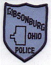 Gibsonburg Police Patch (OH)