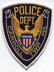 Carroll Twp. Police Patch (eagle) (PA)