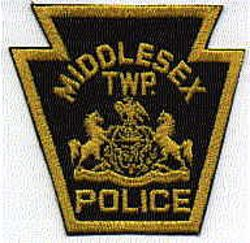 Middlesex Twp. Police Patch (PA)