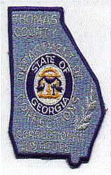 Thomas Co. Correctional Institute Patch (GA)