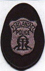 Atlanta Police Patch (black/grey) (GA)