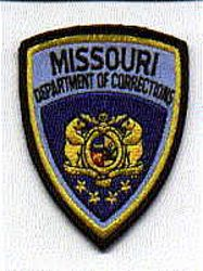 Dept. of Corrections Patch (cap size) (MO)