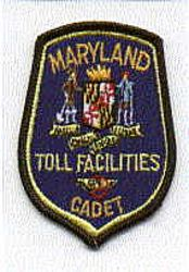 Toll Facilities Cadet Patch (cap size)(MD)