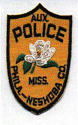 Phila. Neshoba Co. Aux. Police Patch (MS)