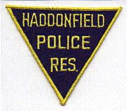 Haddonfield Res. Police Patch (NJ)