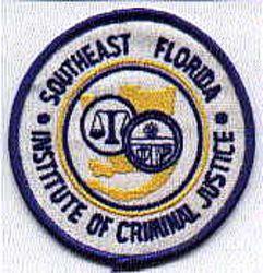 Southeast Florida Criminal Justice Patch (FL)