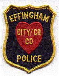 Effingham City Co. Police Patch (IL)