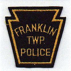 Franklin Twp. Police Patch (keystone shape, felt) (PA)