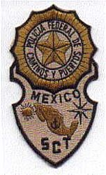 Foreign: Mexico, Police of Caminos & Puertos SCT Patch