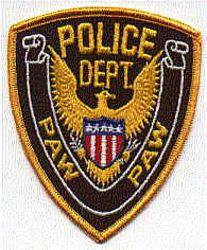 Paw Paw Police Patch (MI)