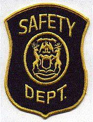 Safety Dept. Patch (MI)