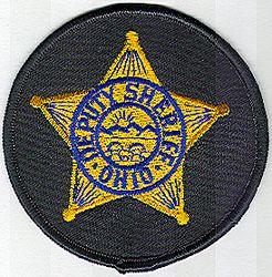 Sheriff: OH, Deputy Sheriff Patch (round)