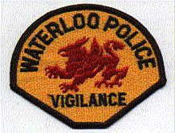 Waterloo Police Vigilance Patch (IA)