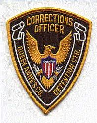 Queen Annes Co. Corrections Officer Patch (MD)