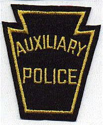 Auxiliary Police Patch (felt) (PA)